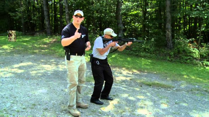 Stance and the AR-15: Modern Sporting Rifle Tip - Modern Defensive Training Systems - YouTube
